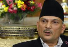Baburam Bhattarai on Twitter