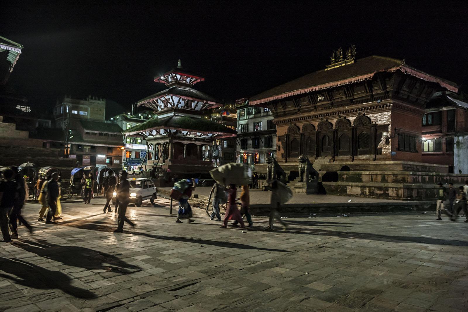 Beggars Nepal Street Beautiful