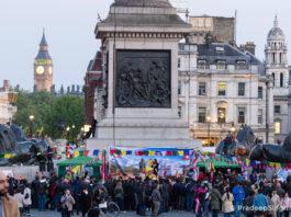 Buddha Jayanti Trafalgar Square London-8635