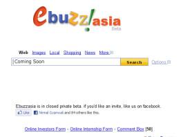Ebuzz asia Nepali search engine