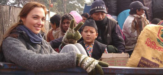 Gal Gadot in Nepal