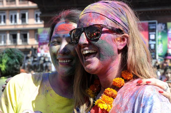 Holi in Kathmandu 2015 3