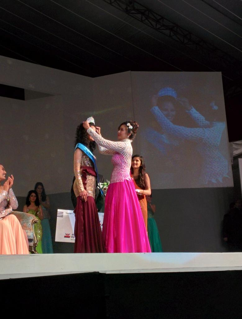 Medha Koirala is Second Runner Up Miss Nepal 2015