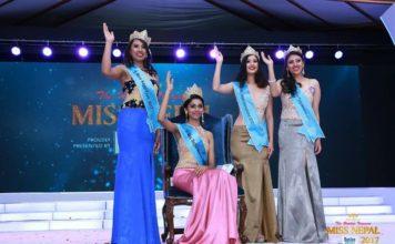 Miss Nepal 2017 Winners