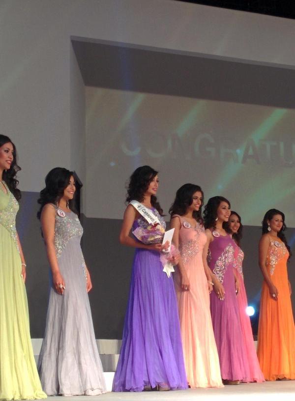 Miss Photogenic winner contestant no 12 Dibyata Baidya
