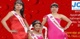 Miss Teen Nepal 2013