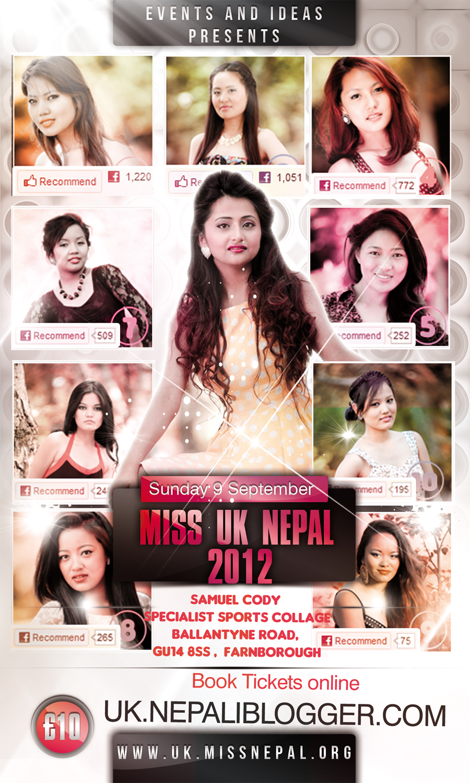 Miss UK Nepal 2012 Finale Voting