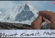 Mt Everest Nepal Featured in Samsung Galaxy