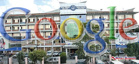 Nepal Telecom NTC and Google