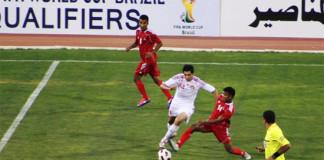 Nepal Vs Jordan 9 -0 goals