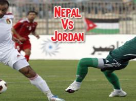 Nepal Vs Jordan in Kathmandu
