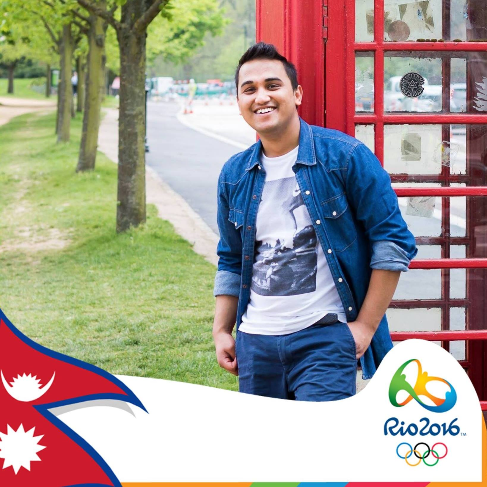 Nepal at Olympics Facebook Profile Pradeep Singh BloggerNepal at Olympics Facebook Profile Pradeep Singh Blogger