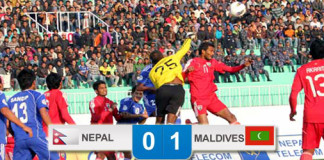 Nepal vs Maldives AFC Challenge Cup 0-1