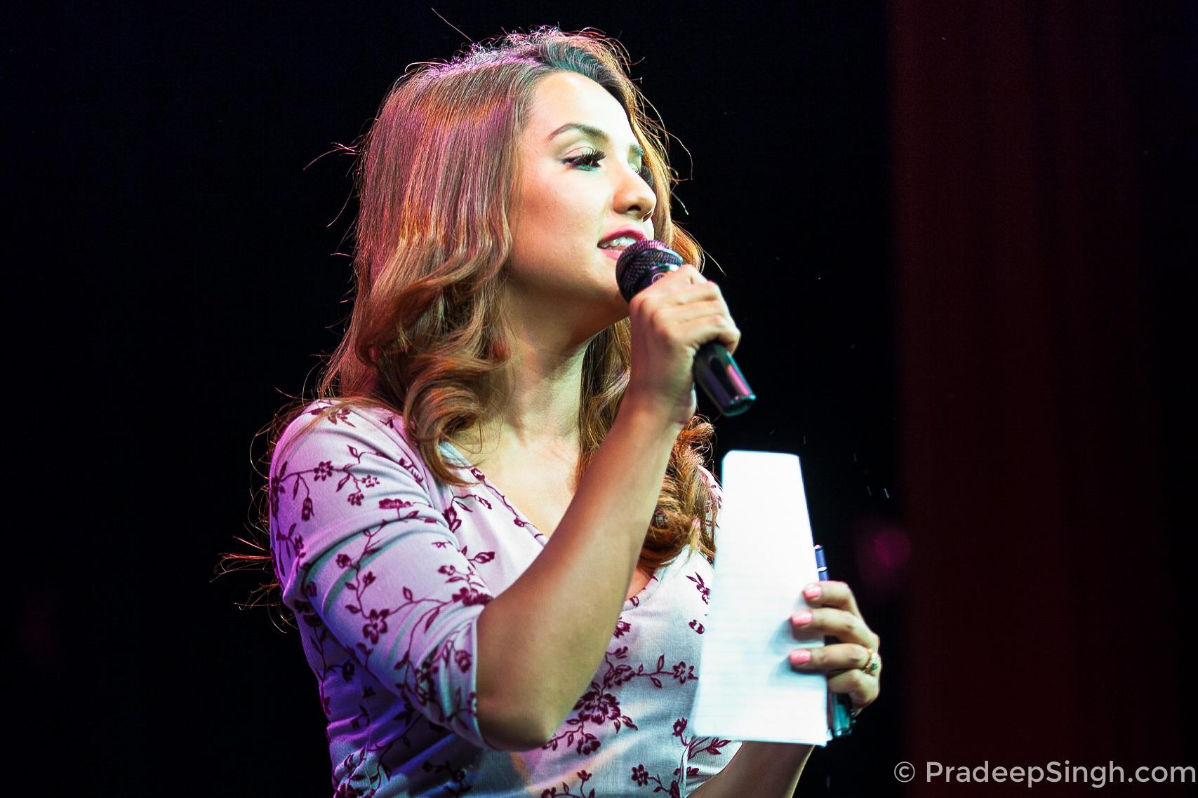 Priyanka Karki in 2015 at an UK Event