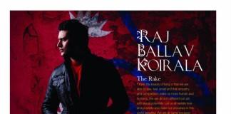 Raj Ballav Koirala in Folio Magazine