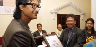 Rajesh Hamal WWF Nepal Ambassador Nepali Blogger