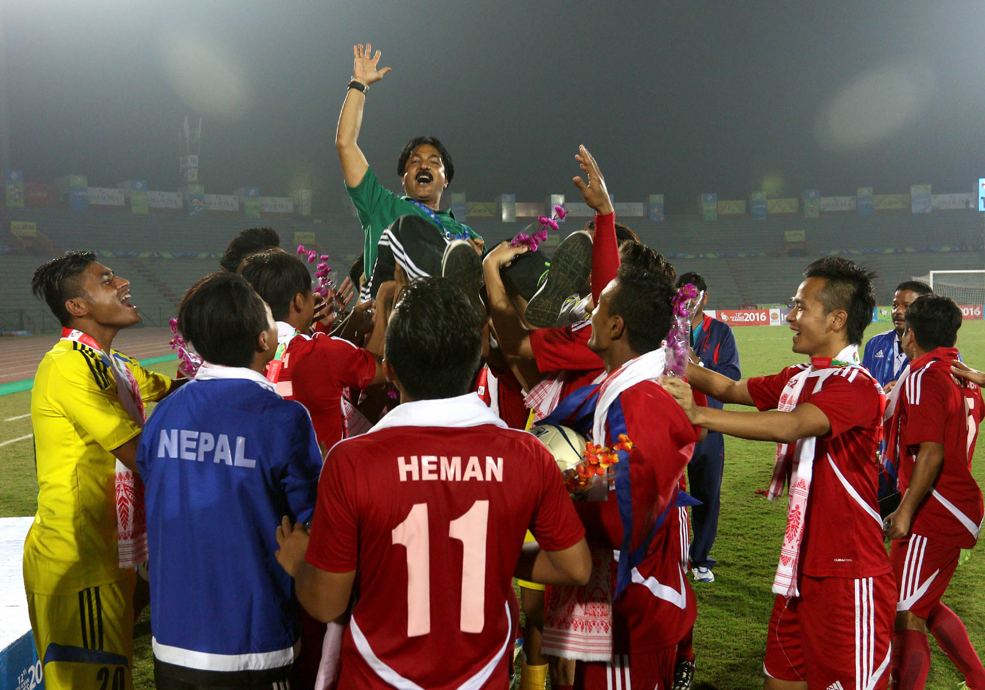 Raju Kaji Shakya and Nepali Player win India in South Asian Games 2016 1