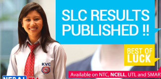 SLC Results 2069 2070 Published