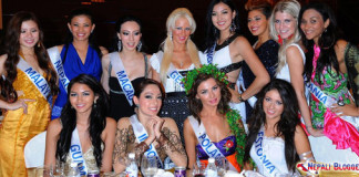 Sarina Maskey in Miss International 2011
