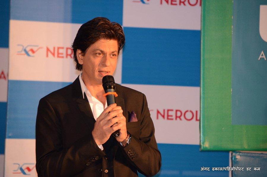 Shah Rukh Khan at Hyatt Hotel in Nepal 1