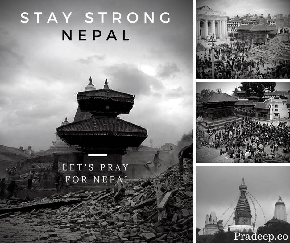 Stay Strong Nepal - After Nepal Earthquake