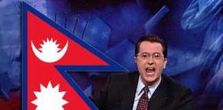 Stephen Colbert not honoring Nepal