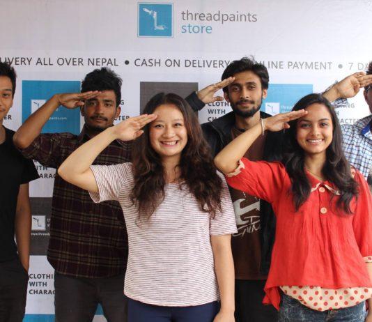 ThreadPaints Team startup Nepal