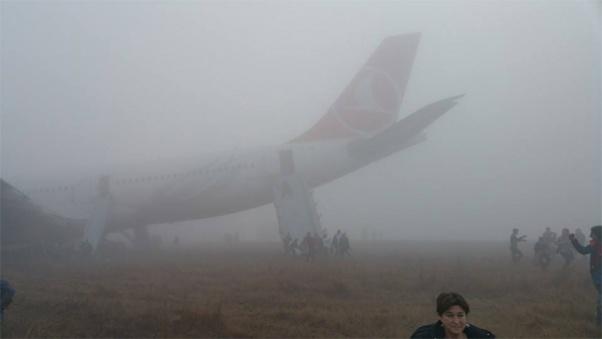 Turkish Airlines Kathmandu Airport Incident 1