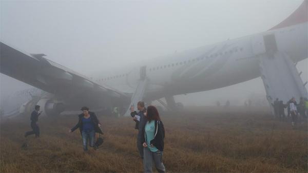 Turkish Airlines Kathmandu Airport Incident 2