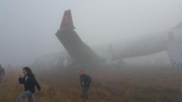 Turkish Airlines Kathmandu Airport Incident 3