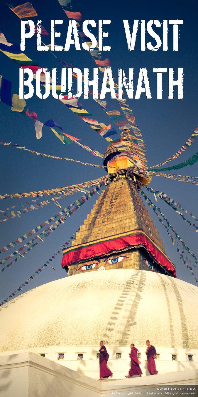 Visit BoudhaNath in Nepal