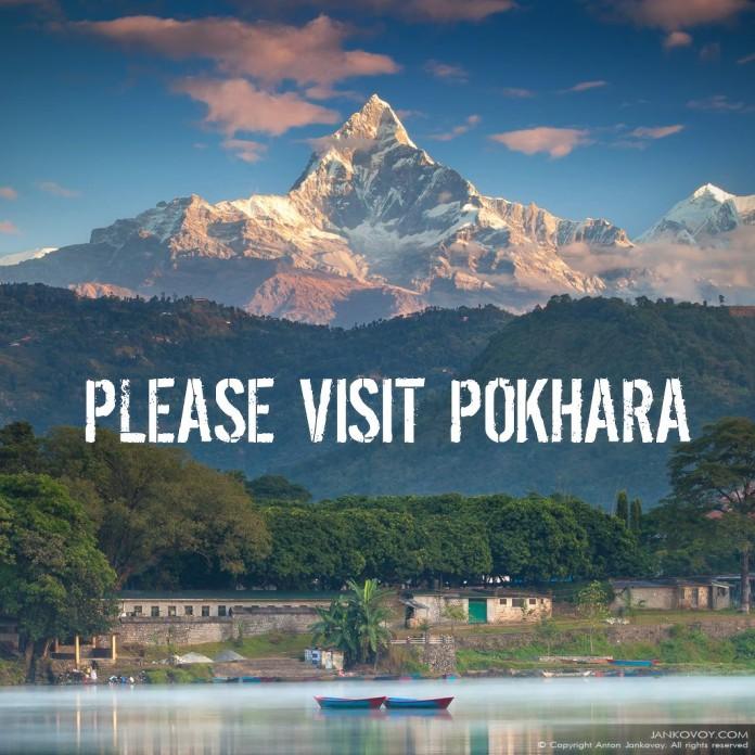 Visit Pokhara in Nepal