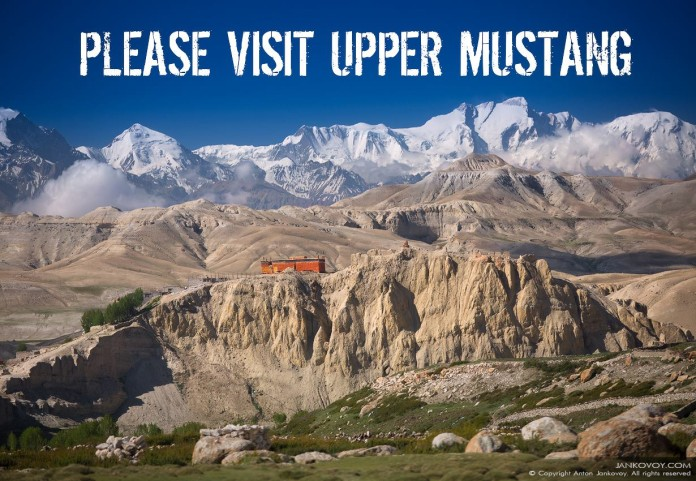 Visit Upper Mustang in Nepal