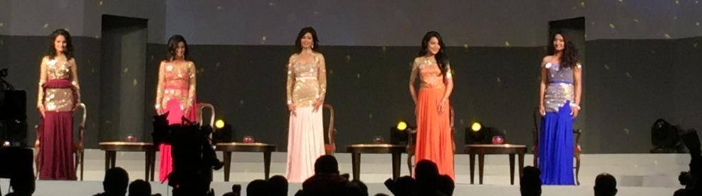 top five finalists Miss Nepal